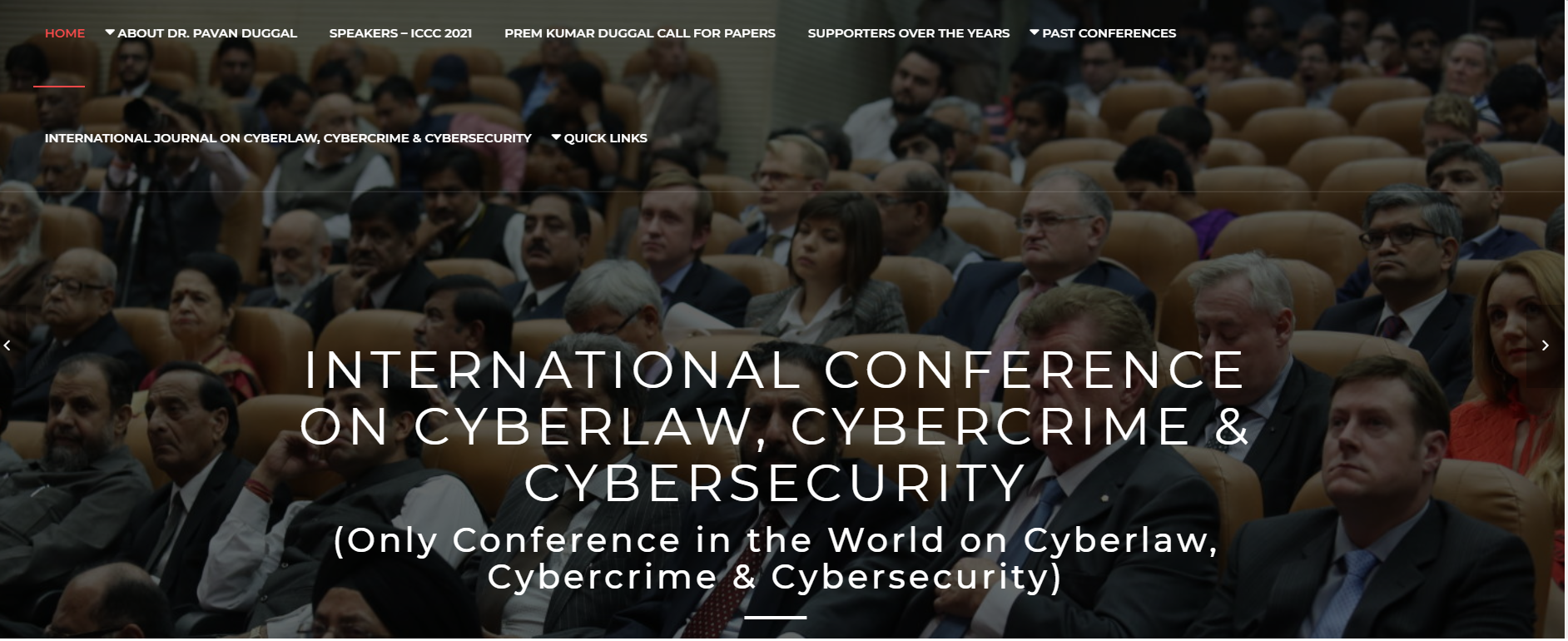 International Conference on Cyberlaw, Cybercrime & Cybersecurity